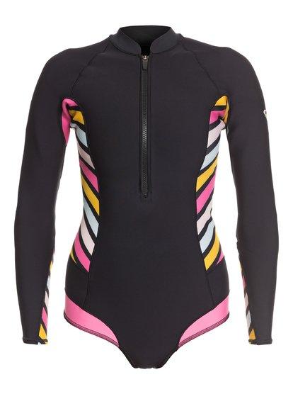 1mm POP Surf - Long Sleeve Back Zip Bikini Cut Shorty  ERJW403021