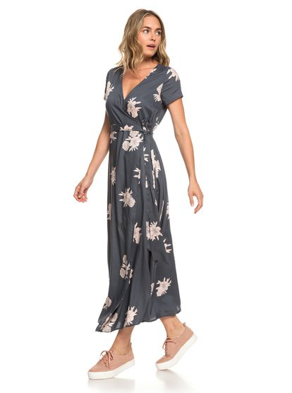 8c926bf4341e District Day Short Sleeve Maxi Dress ERJWD03317