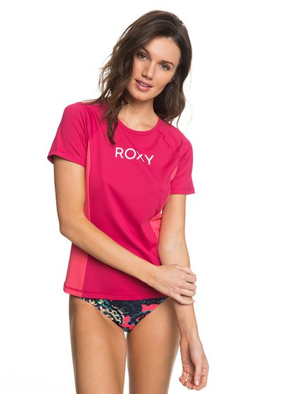 On My Board Colorblock - Short Sleeve UPF 50 Rash Vest for Women  ERJWR03211