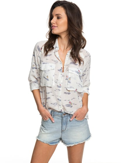 Juvia - Long Sleeve Viscose Shirt for Women  ERJWT03188