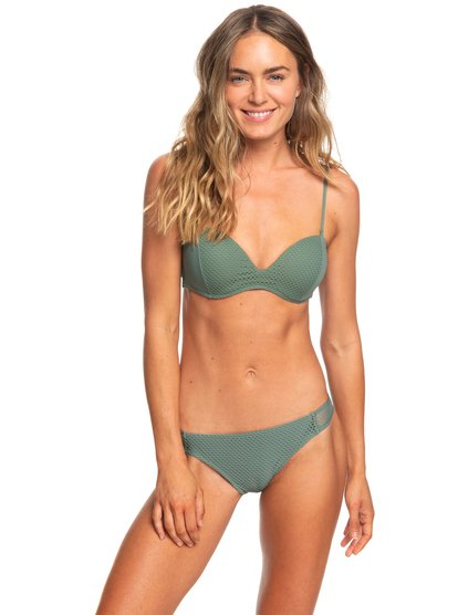 Garden Summers - Moulded Underwire Bandeau Bikini Set for Women  ERJX203340
