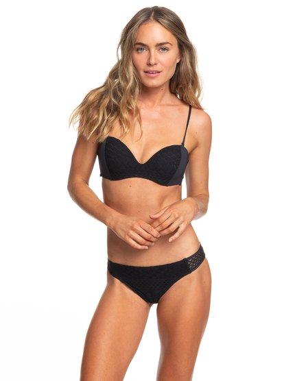 Garden Summers - Moulded Underwire Bandeau Bikini Set for Women  ERJX203340