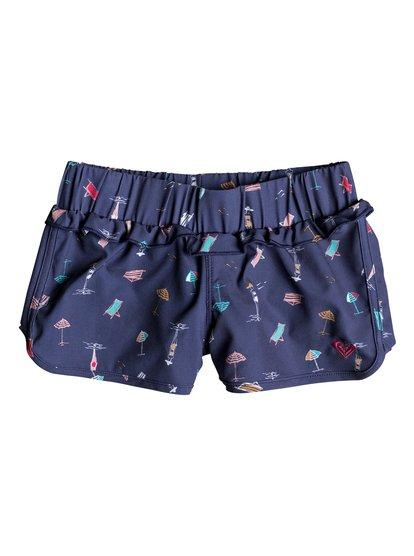 Tropicool Sunshine - Board Shorts for Girls 2-7  ERLBS03025