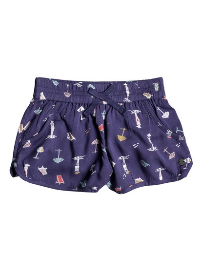 Meet Me In The City - Viscose Shorts for Girls 2-7  ERLNS03014