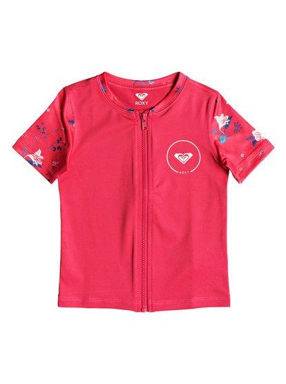 Shortbreak - Short Sleeve UPF 50 Rash Vest for Girls 2-7  ERLWR03076