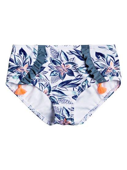 23d5fe6bca 0 Magic Seeker - Bas de bikini couvrance maxi pour Fille 2-7 ans Blanc