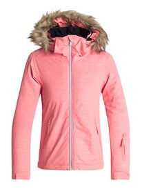 5b775dbd9fd Jet Ski Embossed - Snow Jacket for Girls 8-16 ERGTJ03056