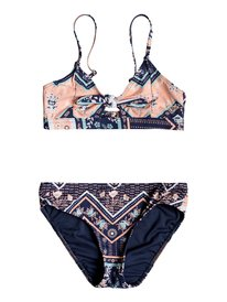 d2fc98f241b331 Heart In The Waves - Athletic Triangle Bikini Set for Girls 8-16 ERGX203199