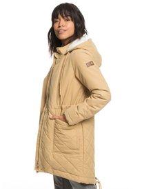 5a0477533a8 Slalom Chic - Waterproof Hooded Padded Jacket for Women ERJJK03231