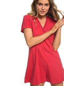 6f4fc5df5d ... Travel Dream - Short Sleeve Playsuit for Women ERJKD03245