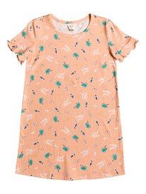 bca20710bb0 Second Sun - Short Sleeve T-Shirt Dress for Girls 2-7 ERLKD03064