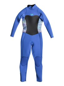72693605251 3 2mm Syncro Series - Back Zip GBS Wetsuit for Girls 2-7 ERLW103001