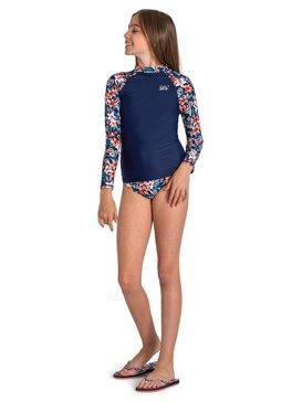 Sebastian Floral Whole Hearted - Long Sleeve UPF 50 Rash Vest  ARGWR03045
