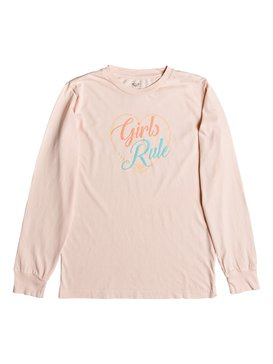 GIRLS RULE LS CREW RG  ARGZT03238