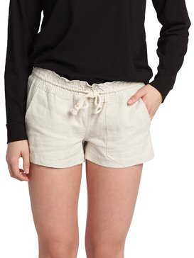 f9528c3fed ... Oceanside - Linen Beach Shorts for Women ARJNS03007 ...