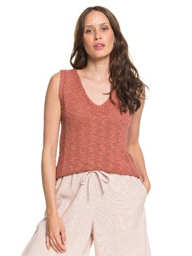 Blooming Season - Knitted Vest Top  ARJSW03226