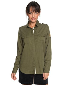 RX CAMISA M/L MILITARY INFLUENCE IMP  BR73861047
