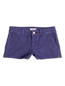 Sunset Clouds - Denim Shorts for Girls 8-16  ERGDS03034