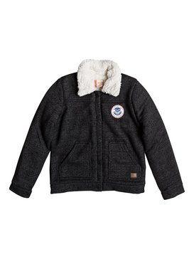 Royal Estate - Jersey Flight Jacket for Girls 8-16  ERGFT03227