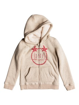 Feel Her Breath Free Island - Zip-Up Hoodie for Girls 8-16  ERGFT03301