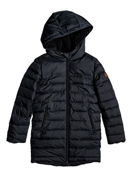 Waterfall Song - Longline Hooded Puffer Jacket  ERGJK03070