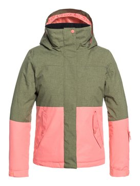 ROXY Jetty Block - Snow Jacket for Girls 8-16  ERGTJ03059