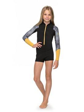 2mm POP Surf - Long Sleeve Front Zip Springsuit for Girls 8-16  ERGW403003