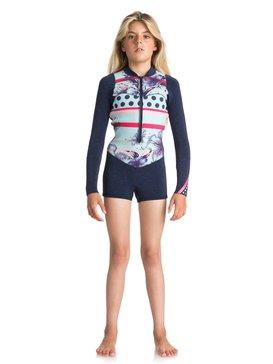 2mm POP Surf - Long Sleeve Front Zip Springsuit for Girls 8-16  ERGW403004