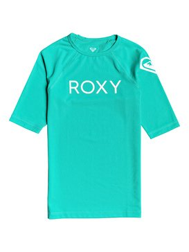 Funny Waves - Short Sleeve UPF 50 Rash Vest for Girls 8-16  ERGWR03108