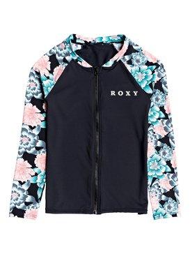 Surf My Mind - Long Sleeve UPF 50 Front Zip Rash Vest for Girls 8-16  ERGWR03143