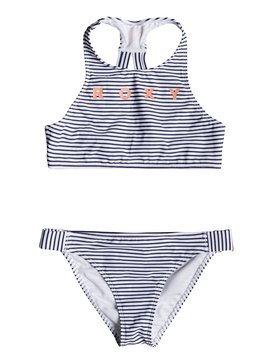 Surfing Free - Crop Top Bikini Set for Girls 8-16  ERGX203188