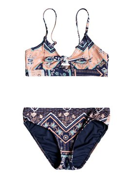 Heart In The Waves - Athletic Triangle Bikini Set for Girls 8-16  ERGX203199