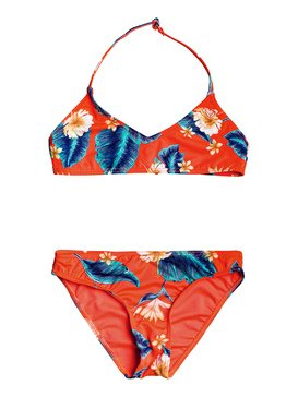Seaside Lover - Triangle Bralette Bikini Set for Girls 8-16  ERGX203209