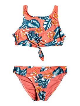 077441f75b0 Floral Time - Crop Top Bikini Set ERGX203245