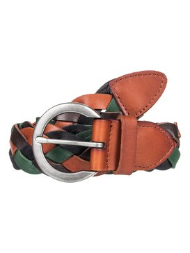 Color Everywhere - Braided Leather Belt  ERJAA03635