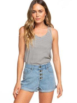 5312235e56 Authentic - High Waist Denim Shorts for Women ERJDS03196