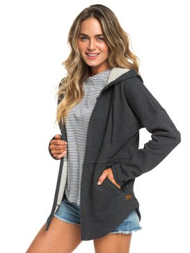 Lullaby Lights - Longline Snap Front Hoodie for Women  ERJFT03933
