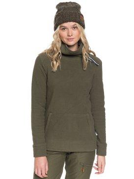 Deltine SpinDye® - Technical Turtleneck Fleece for Women  ERJFT04010