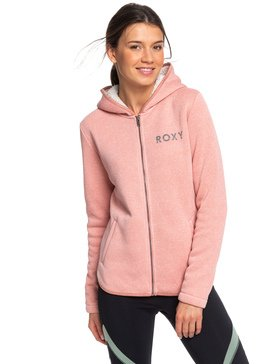 Slopes Fever A - Zip-Up Sherpa-Lined Hooded Fleece  ERJFT04091