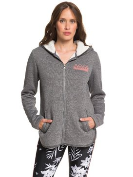 Slopes Fever B - Zip-Up Sherpa-Lined Hooded Fleece  ERJFT04092
