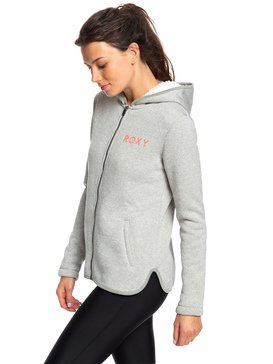 Slopes Fever - Sherpa-Lined Zip-Up Hoodie  ERJFT04093