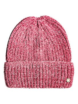 Collect Moment - Chenille Beanie  ERJHA03630