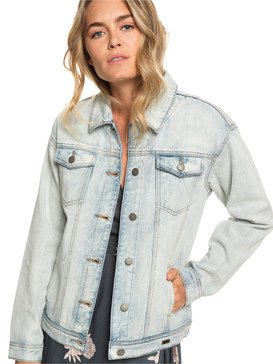 Midnight Drive - Denim Boyfriend Jacket for Women  ERJJK03279