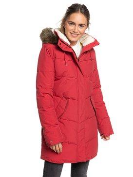 Ellie - Longline Hooded Waterproof Puffer Jacket  ERJJK03289
