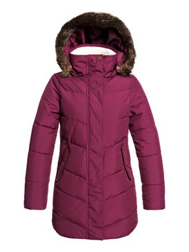 Elsie Girl - Longline Hooded Waterproof Puffer Jacket  ERJJK03291