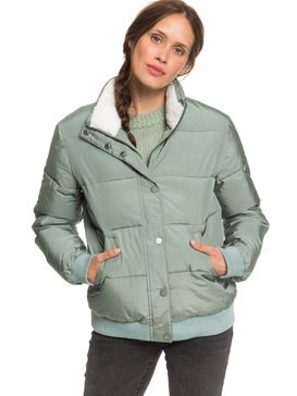 Start Believing - Short Puffer Jacket  ERJJK03309