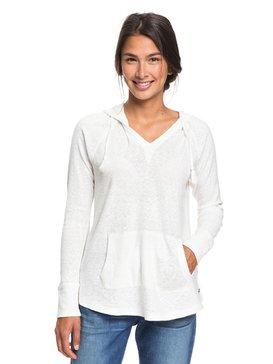 Long Night - Hooded Long Sleeve Top for Women  ERJKT03561