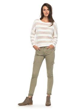 Coast Down - Skinny Fit Cargo Pants for Women  ERJNP03138