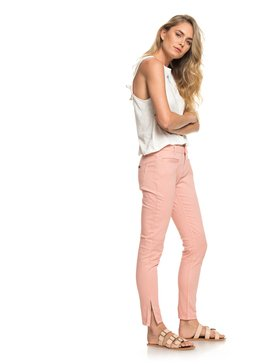 Her New Tribe - Skinny Fit Biker Trousers for Women  ERJNP03174