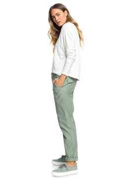 Remember The Travel - Boyfriend Fit Drop Crotch Trousers  ERJNP03249